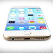 iPhone ขอบโค้ง