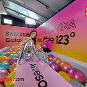 ตัวอย่างภาพถ่ายจาก Samsung Galaxy A71