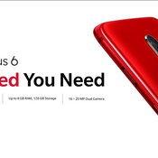 One Plus 6 สีแดง