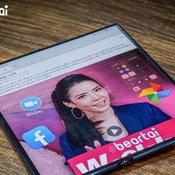 รีวิวมือถือพับได้สุดล้ำ Huawei Mate XS 5G ราคา 90000 มีทอน
