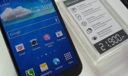 Samsung Galaxy S4 ตัวจริงที่ได้ลองสัมผัส