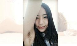 เทรนด์นี้ยังมีไหม? สาวจีน Selfie คู่กับ(ขน)จุ๊กแร้