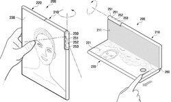 Samsung จดสิทธิบัตรสมาร์ตโฟนจอพับที่มาพร้อม 'กล้องหมุนได้'