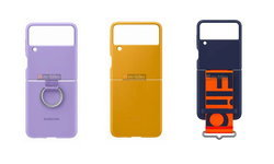 ชมภาพเคสของ Samsung Galaxy Z Flip 3 มีให้เลือกหลากหลายและมีแบบห้อยติดตัวได้