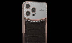 ชมภาพ iPhone 13 Pro ตกแต่งสุดหรูได้รับแรงบันดาลใจจาก นาฬิกา Rolex