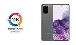 DXOMarkเผยคะแนนกล้องของSamsung Galaxy S20+รวมได้118คะแนน