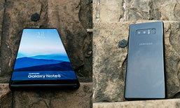 หลุดภาพ Samsung Galaxy Note8 เต็มเครื่อง พร้อมยืนยันสเปกบางส่วนจากใบโปรโมท