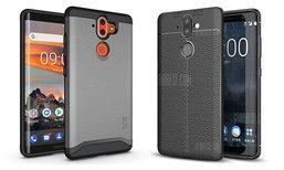 Nokia 9 เผยภาพสวมเคสเซ็ตใหม่ กับดีไซน์จอไร้ขอบแบบโค้งทั้ง 2 ด้านชัดเจน
