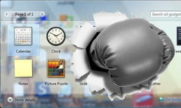 เตือนผู้ใช้ Windows 7 ปิด Gadget ด่วน