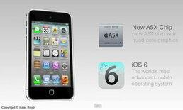 มาแล้ว iPhone 5 หน้าจอ 3.9 นิ้วกับภาพคอนเซปต์ดีไซน์ล่าสุด! (มีคลิป)