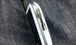 Samsung Galaxy S3  สุดร้อนแรง : ร้อนแรงชนิดติดไฟไหม้เคส