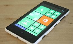 [รีวิว] Nokia Lumia 820 มือถือ Windows Phone 8 สเปคแรง สามารถเปลี่ยนฝาหลังได้ตามใจชอบ