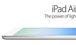 iPad Air เปิดตัวแล้ว ! ใช้ชิป Apple A7 เบาสุดเพียง 469 กรัม
