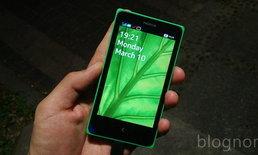 รีวิว Nokia X: ความพยายามครั้งแรกของ Nokia ในโลกแอนดรอยด์