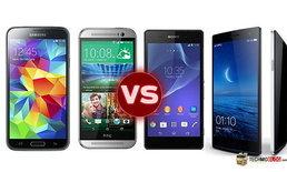เทียบสเปค 4 สมาร์ทโฟนที่น่าจับตามอง ในงาน [TME2014]