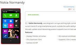 Nokia Normandy โผล่เวียดนามก่อนใคร!!