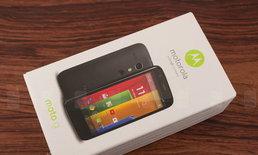 รีวิว Motorola Moto G รุ่นสองซิม