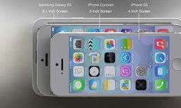 เผยคอนเซปท์ iPhone 6 ชุดใหม่ มาพร้อมหน้าจอ 5 นิ้ว และ iOS 8