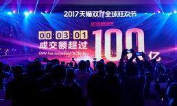 แค่ 2 ชั่วโมง Alibaba ทำเงินไปถึง 12 หมื่นล้านเหรียญ ในวันช้อปปิ้งออนไลน์แห่งชาติของจีน