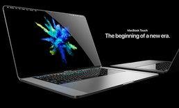 ชมภาพ Macbook Touch Concept คอมฯ ยุคใหม่ที่มีแต่ Touch Screen