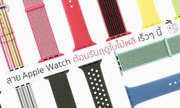 Apple เปิดขายสาย Apple Watch สีสันสดใส ต้อนรับช่วงฤดูใบไม้ผลิ