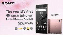 โซนี่ไทยพร้อมวางตลาด Xperia Z5 Premium Rose Gold จำนวนจำกัด