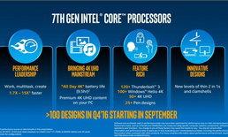 Intel เปิดตัว CPU ตระกูล Core รุ่นที่ 7 ในชื่อ Kaby Lake