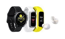 Samsung เปิดตัว 3 Wearable รุ่นใหม่ Galaxy Buds, Galaxy Fit, Galaxy Watch Active