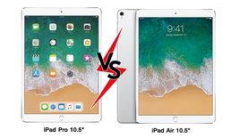 """เปรียบเทียบสเปก iPad Pro 10.5"""" VS iPad Air (Gen 3) มันต่างกันแค่ไหน?"""