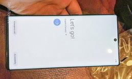 หลุดภาพจริงครั้งแรกของ Samsung Galaxy Note 10+ เหมือนต้นแบบทุกประการ