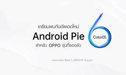 OPPO เริ่มอัปเดต ColorOS 6 ที่ใช้ Android 9 ให้มือถือรุ่นเก่า, OPPO F9 เป็นรุ่นแรก!