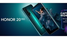 HONORประกาศวางขายสมาร์ทโฟนHONOR 20 PROทั่วโลก