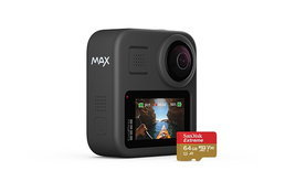 GoPro Maxกล้องAction Cameraแนว360องศาพร้อมกับระบบกันสั่นและบันทึกเสียงได้รอบทิศ