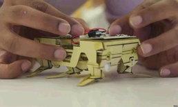 """""""หุ่นยนต์แมลงสาบ"""" แนวคิดใหม่ที่อาจนำมาใช้ในงานกู้ภัย"""