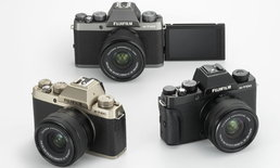 FUJIFILM เปิดตัว X-T100 กล้อง Mirrorless ทรง DSLR ระดับน้องเล็กสุด