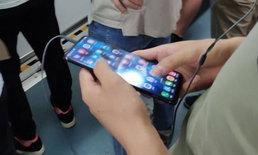"""ภาพหลุด """"Vivo NEX"""" สมาร์ทโฟน หน้าจอเต็ม ขณะกำลังใช้งาน"""