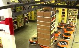 หุ่นยนต์ เตรียมยึดงานในโกดังสินค้าอุปโภคบริโภคอเมริกัน