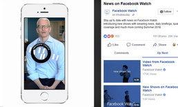 """""""เฟสบุ๊ก"""" ผนึกกำลังหลายสื่อใหญ่ สร้างรายการข่าวบนแพลตฟอร์ม """"วอทช์"""""""