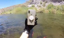 "YouTuber รายหนึ่งพบ ""iPhone X"" ที่จมน้ำเป็นสัปดาห์ พบยังใช้ได้ และส่งคืนเจ้าของเดิม"