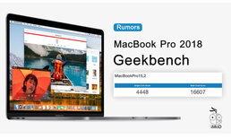 """ผุดข้อมูล Geekbench ของ """"MacBook Pro รุ่นใหม่ 2018"""" มาพร้อม CPU Coffee Lake, RAM 32GB"""