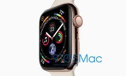 """เผยสเปคของ """"Apple Watch Series 4"""" กับหน้าจอที่ละเอียดมากกว่าเดิม"""