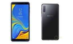 """ชมภาพ """"Samsung Galaxy A7 (2018)"""" มือถือจอใหญ่ที่ได้ใช้กล้องหลัง 3 ตัวก่อน """"Galaxy S10"""""""