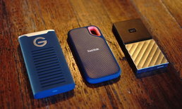 WD-Sandisk ขนไดรฟ์พกพา Portable SSD ประสิทธิภาพสูงพร้อมขายในไทย เริ่มต้นแค่ 3,000 กว่าบาท