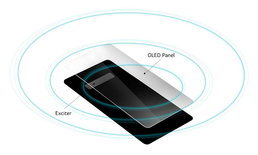 """LG G8 ThinQ"" อาจจะเป็นมือถือรุ่นแรกที่ฝั่งลำโพง และ Amplifier ไว้ในหน้าจอ OLED"