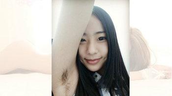 เทรนด์ยังมีไหม? สาวจีน Selfie คู่กับ(ขน)จุ๊กแร้