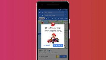 Google Maps เพิ่มตัวเลือกนำทางเป็นตัวละคร Mario
