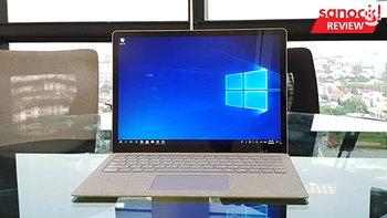 รีวิว Microsoft Surface Laptop คอมพิวเตอร์เรียบง่าย สเปคดี กับ การบทพิสูจน์ของ Windows 10 S