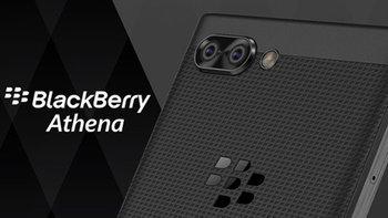 เผย BlackBerry Athena มือถือ BB รุ่นใหม่ ที่มาพร้อมกล้องคู่ และแป้นคีย์บอร์ด QWERTY ลุ้นเปิดตัว
