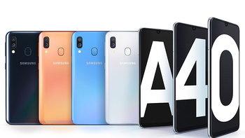 Samsung เปิดตัว Galaxy A40 ปรับสเปคจาก A20e ให้ดีขึ้นอย่างมากมาย