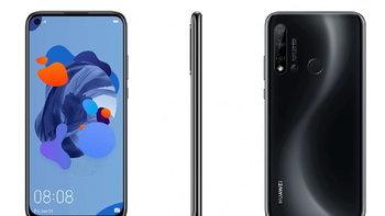 Huawei P20 lite รุ่นใหม่ จะมีกล้อง 4 ตัว ใช้ดีไซน์เจาะรูหน้าจอ